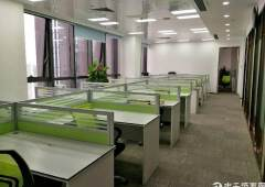 龙岗爱联地铁口写字楼298平办公室出租60每平