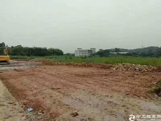 公明圳美新出空地13500平!可堆放建筑材料
