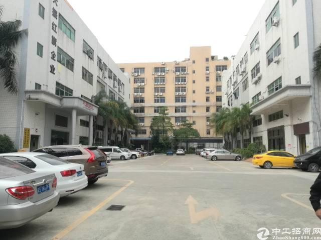 沙井地铁口附近高新产业园内楼上500-1800平每层厂房出租