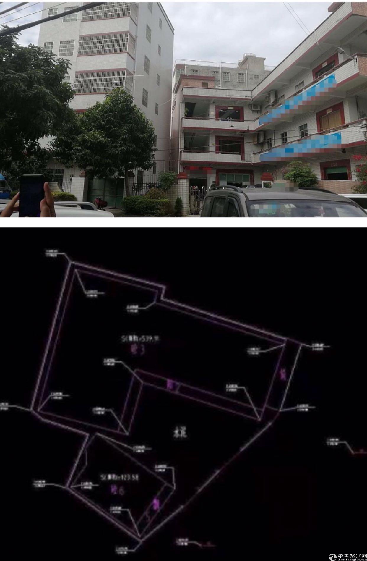 占地813建筑2358小金口独院厂房
