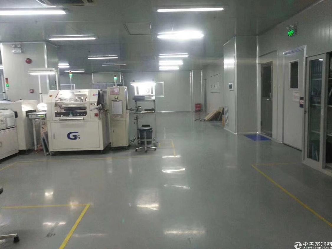 福永地铁口边上楼上新出1200平带精装修厂房-图3