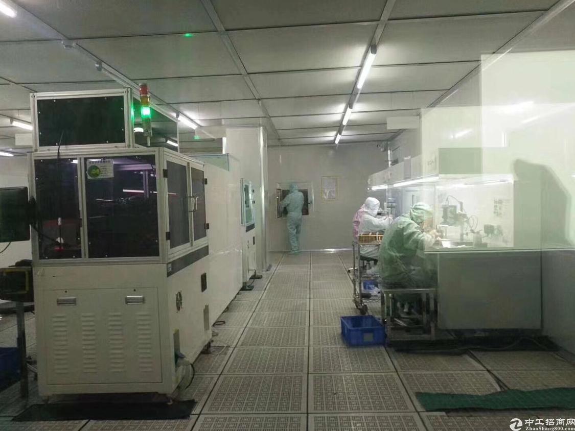 福永地铁口边上楼上新出1200平带精装修厂房-图8