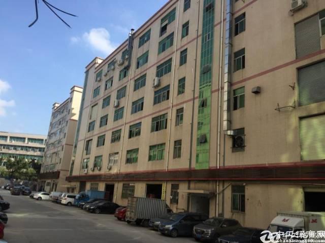 (出租)西乡黄田7300平独院厂房出租一二楼500平米起分租