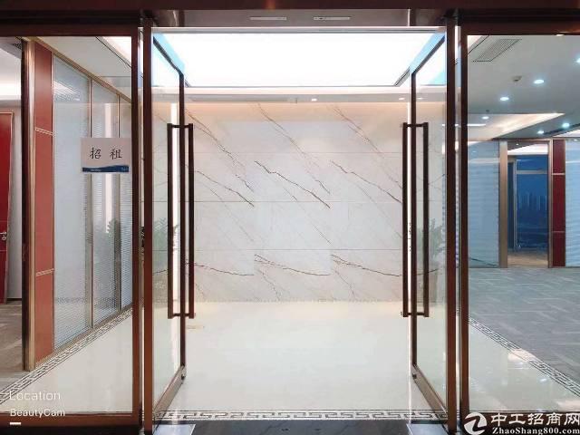 宝安中心区精装修甲级写字楼660平米出租