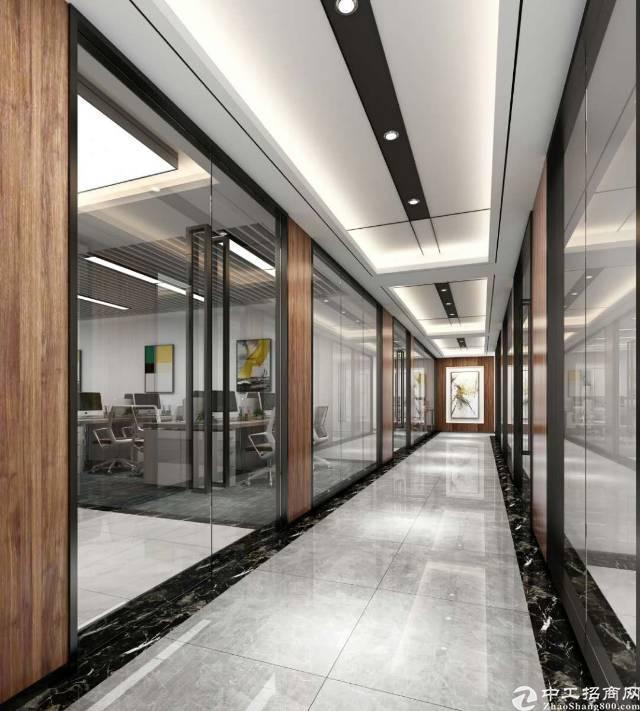 西乡摩斯创投大厦带家私全新精装写字楼出租