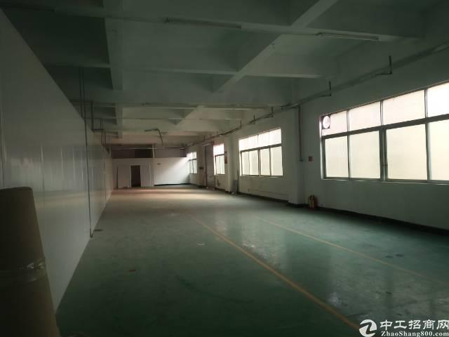 沙井新出楼上406平米厂房出租
