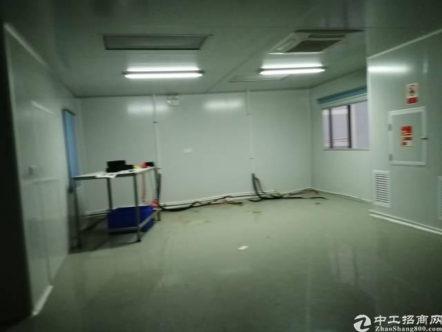 西乡黄田107边楼上80~680平厂房出租