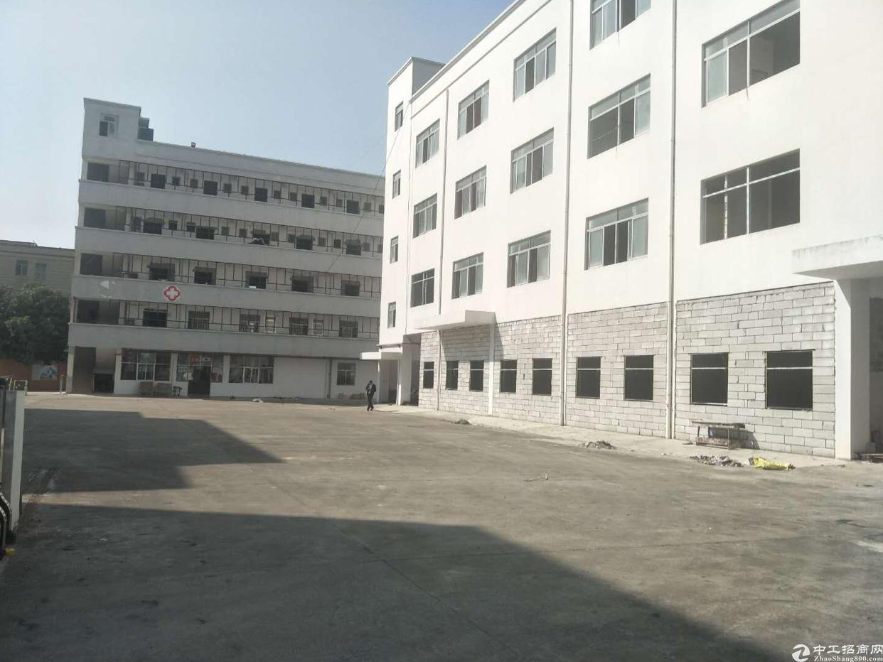 坪山坑梓厂房出租可以做培训教育学校合同10年空地4千平
