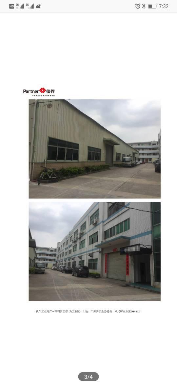 深圳红本厂房占地3600平米,建筑6200平米,