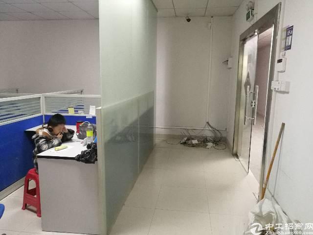 龙华大浪商业中心附近独门独院二楼500平精装修厂房出租