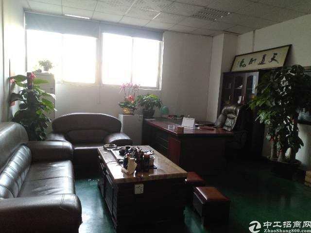 上坊工业区新出楼上1250平方豪华装修厂房