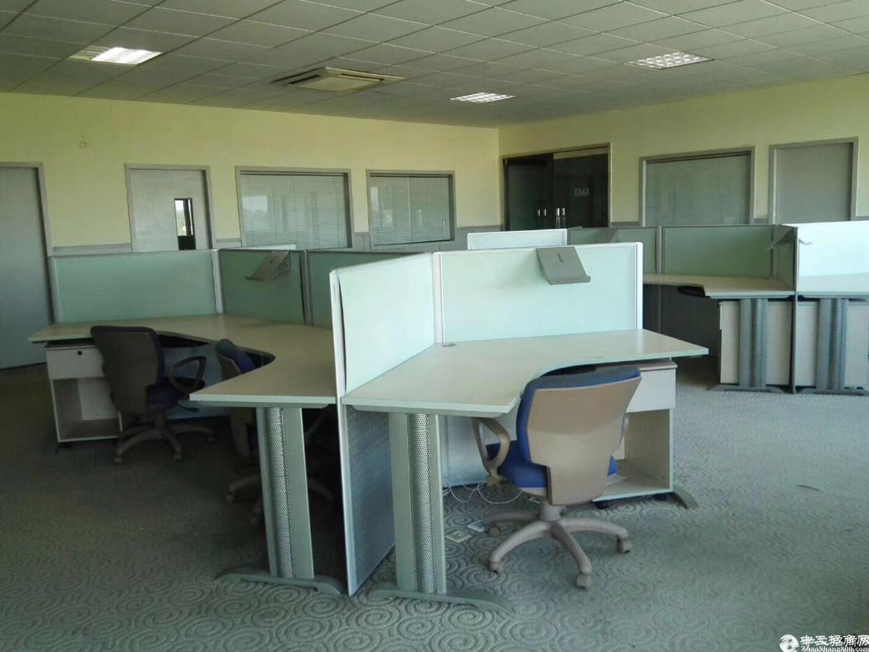 布吉新出楼上880平带装修办公室出租