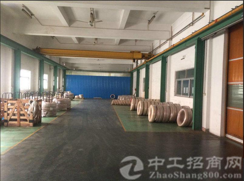 塘厦石马靠深圳标准厂房一楼900平方出租!水电齐全