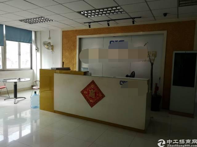 深圳沙井沙三西环路边上新出带装修独院4050平方厂房出租