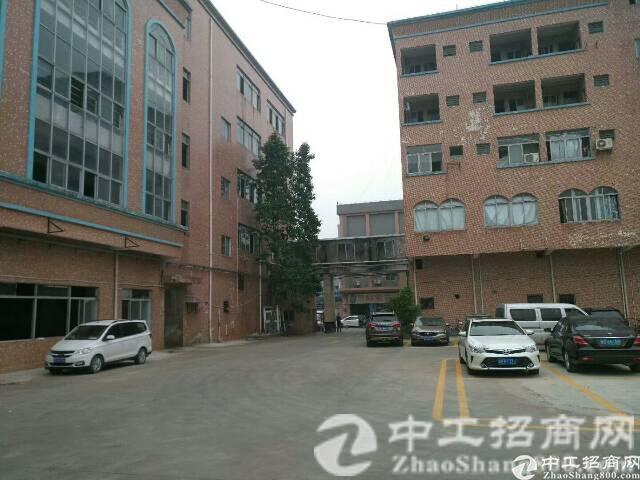 南城镇独院工业区1-5F标准厂房出租,可分租,易招租
