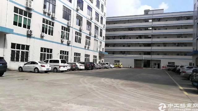 (出租)西乡8600平米独院厂房出租一二楼500平米起分租