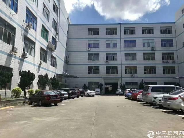 西乡3400平独门独院带装修厂房出租,500平起分租