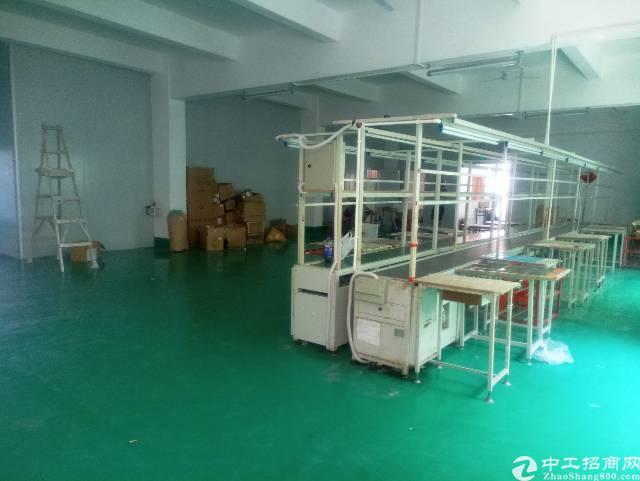 横岗永湖地铁站坳背工业区550平方电子厂出租