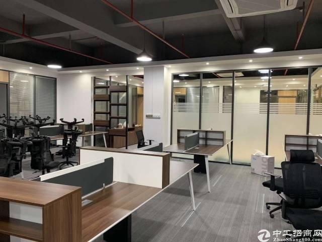 横岗六约新出办公室210平出租