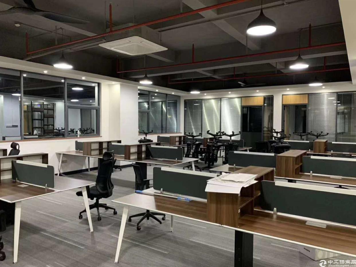 五和地铁站口新出精装修办公室2000平