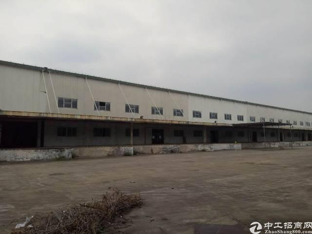 凤岗雁田单一层10000平米物流仓库出租空地超大靠近平湖