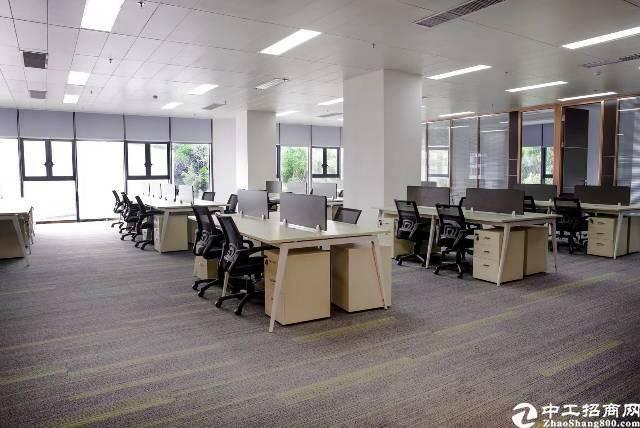 广州黄埔大沙地铁口创客园精装修办公室招租50平起租