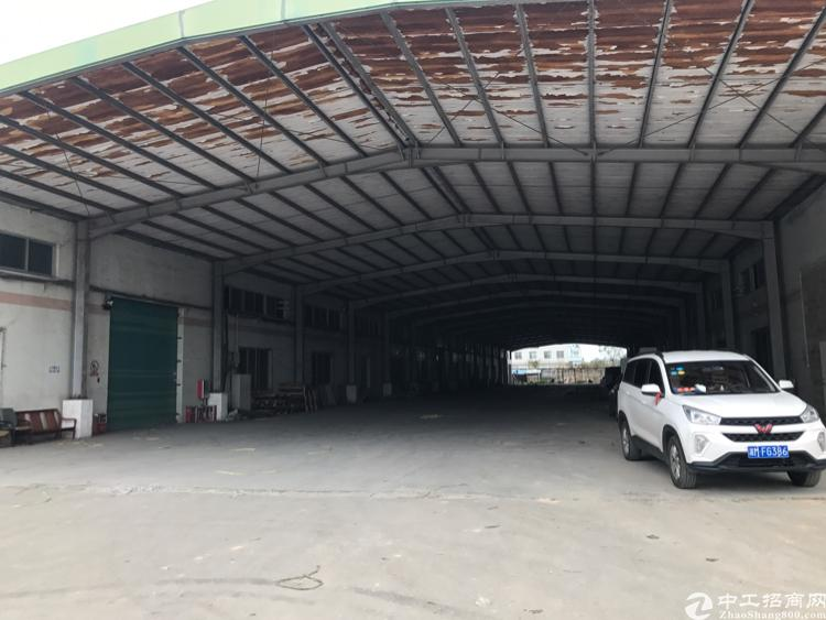 惠州市三栋全新标准厂房证件齐全滴水十米可进拖头交通便利