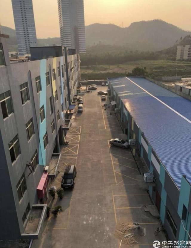 横岗安良社区一楼钢构厂房1200平方出租