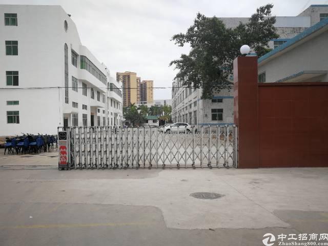 福永稔田独栋厂房9200平方可以分租