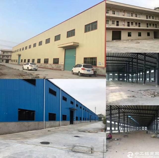龙岗于惠州交汇处全新厂房出租砖墙到顶