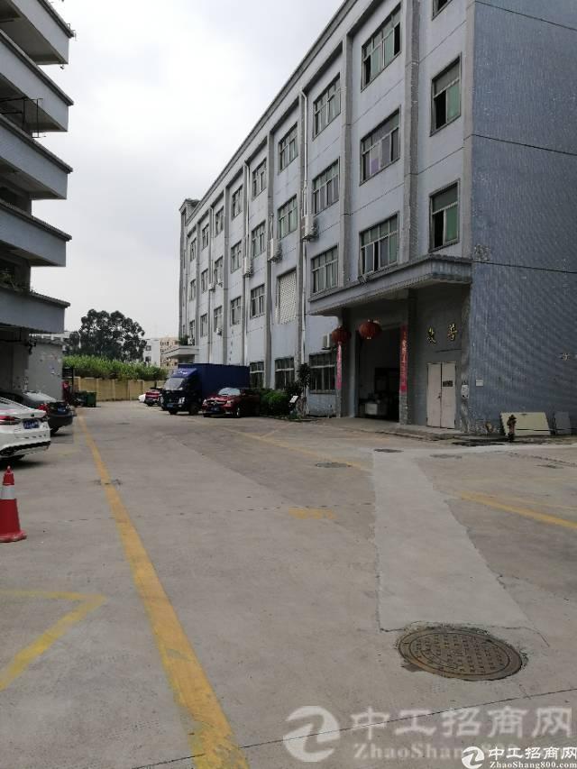松岗罗田象山大道新出一二楼厂房出租每层2200平方可以分租