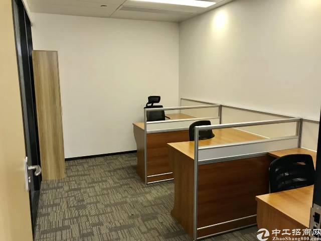龙华地铁口300米处豪华装修办公室400㎡招租
