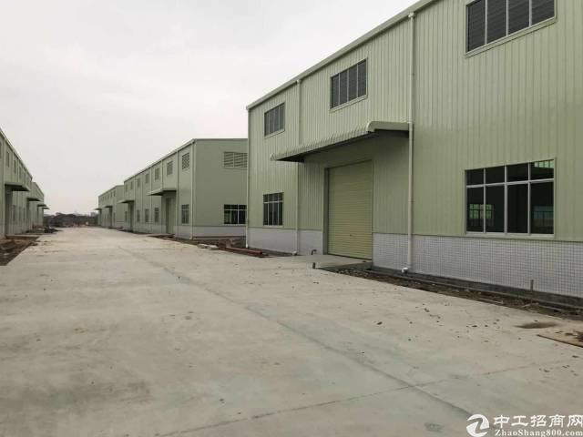 石湾工业区内2万平方标准钢结构厂房招租,1500平起分租