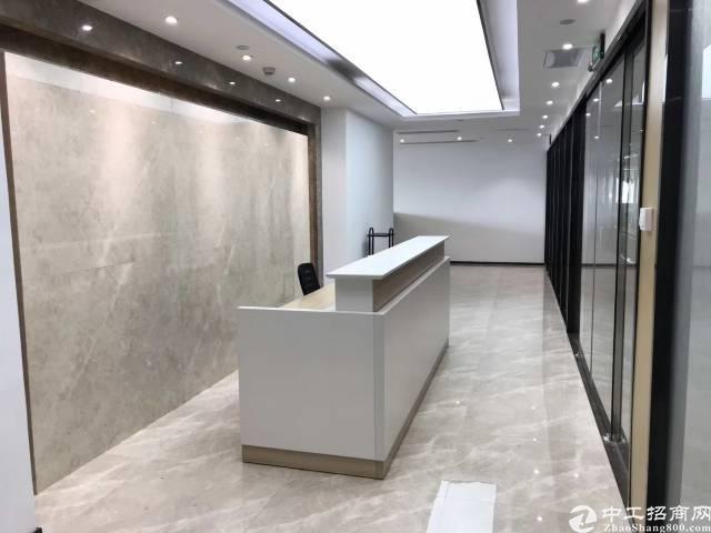清湖地铁站甲级写字楼400㎡带豪华精装修办公室招租