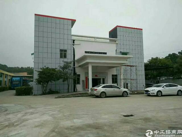 龙岗坪地独院钢构厂房5500平米出租