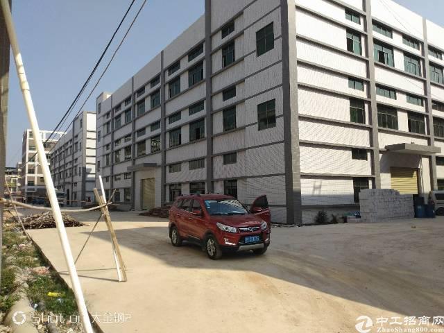 惠州博罗县全新标准厂房招租证件齐全