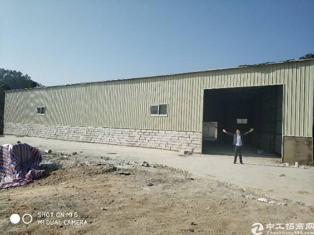 惠城区水口原房东独院钢构厂房出租,滴水6米