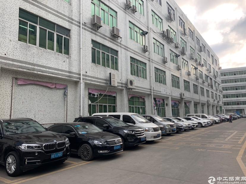 横岗水官高速出口228工业区楼上精装厂房2500平米招租