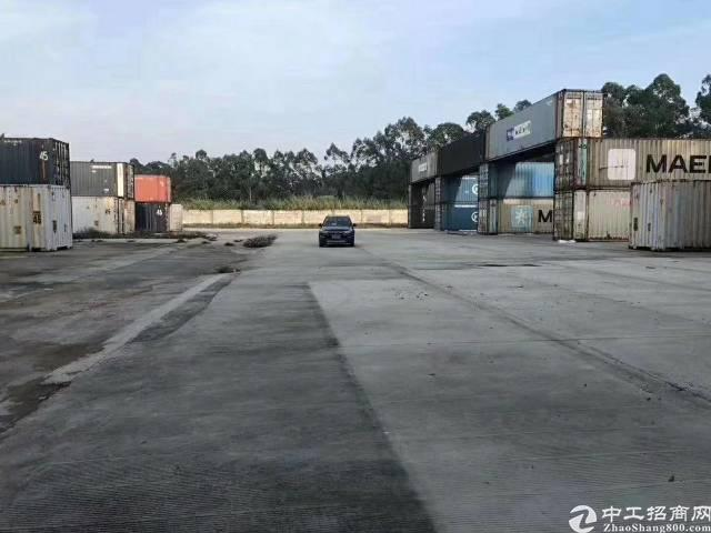 深圳坪山新区靠近南坪快速三期原房东空地13000平方招租