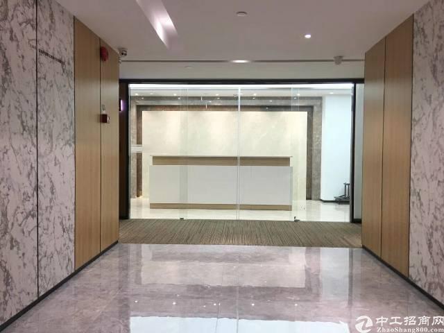 出租龙华清湖地铁口甲级写字楼420平带格间家私