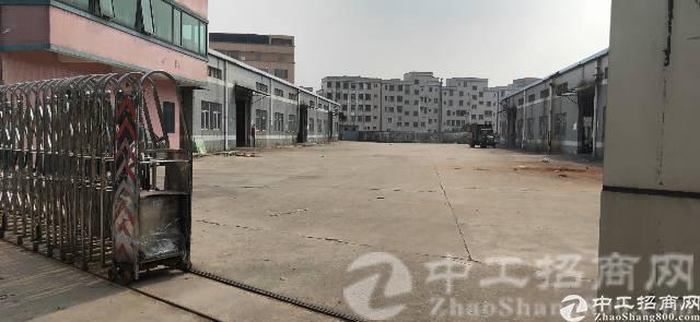 独院厂房空地大3500平方。