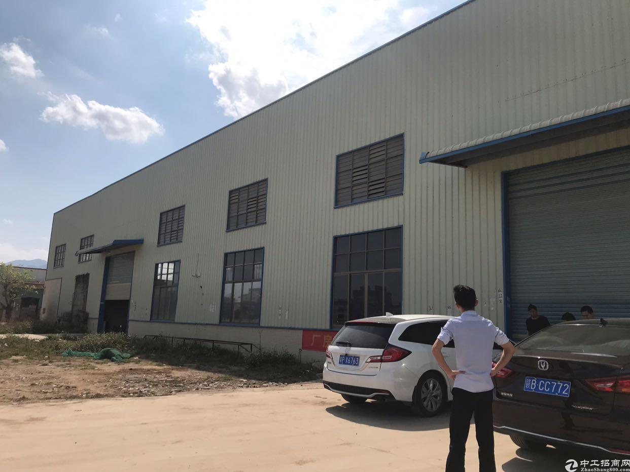 横沥新出独门独院钢结构厂房8000平方。