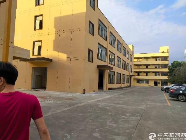 龙岗南联一二楼3900平红本厂房出租可办租赁合同
