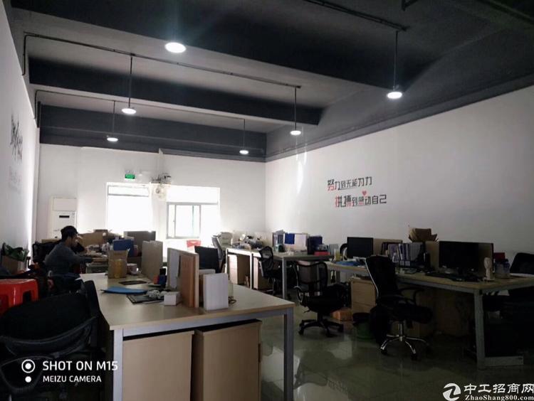 龙华民治上塘路口,一楼620平,精装办公室,玻璃隔间,水电齐
