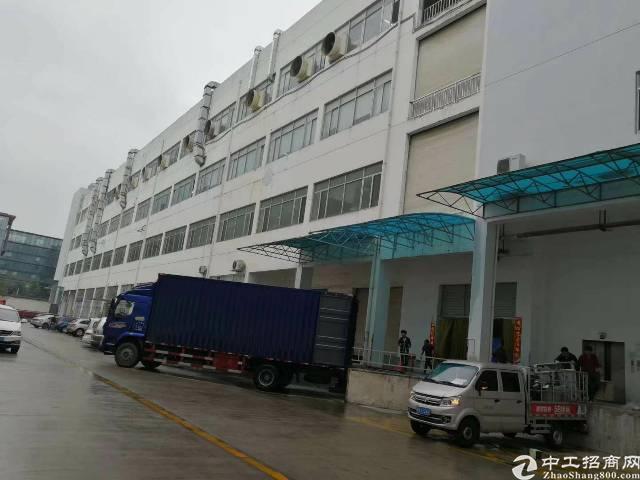 龙岗宝龙工业区新出红本带卸货平台厂房5500平招租可分租