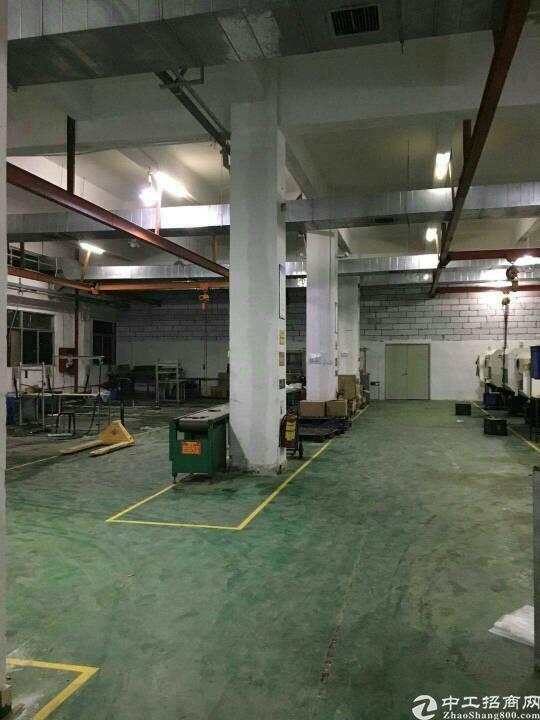 坪地六米高标准厂房一楼900平米招租,