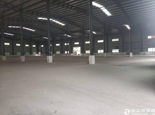 东莞凤岗雁田全新钢构厂房8000平招租层高8米可分租可进货柜