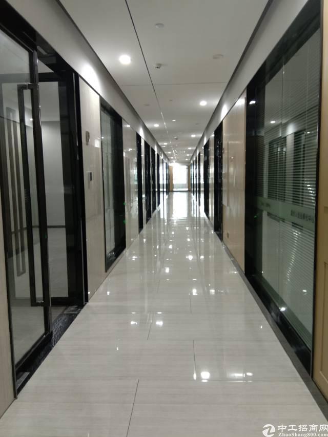 平湖华南城旁10万平米精装写字楼出租100平米起