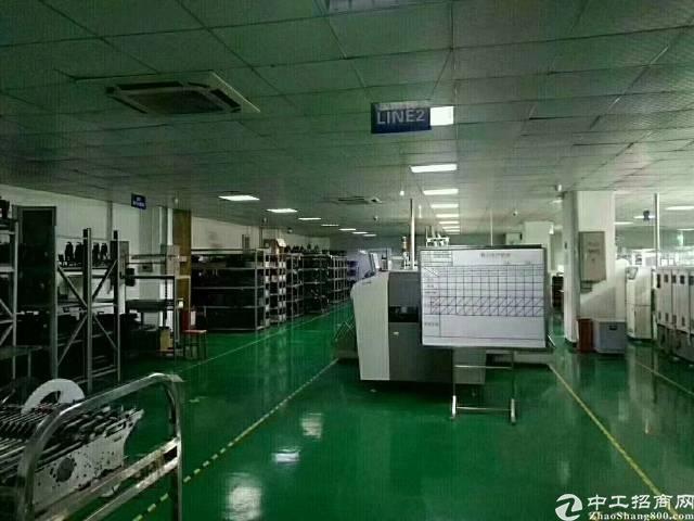 凤凰山脚下楼上1800平米精装修电子厂房招租
