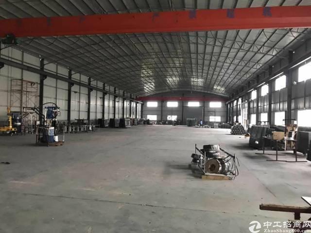 石湾新出8台行车钢结构厂房,滴水9米,周边无居民,重工业厂房-图2